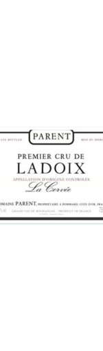 Anne Parent Ladoix Rouge 1er Cru La Corvee 2012 6 x 75cl product image