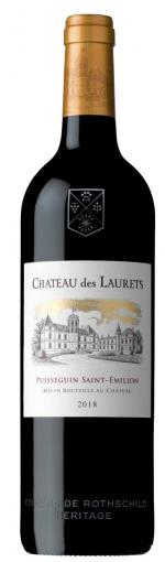 Chateau des Laurets 2018 Bordeaux En Primeur - Wimbledon wine cellar