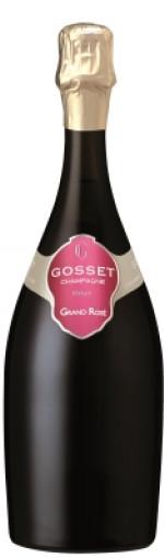 gosset grand rose champagne - wimbledon wine cellar