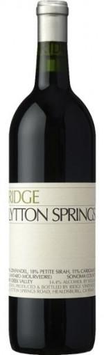 ridge lytton springs 2019 - wimbledon wine cellar