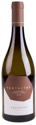 Vassaltis Santorini Barrel Aged Assyrtiko 2018 - Wimbledon Wine Cellar