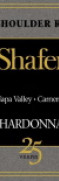 shafer red shoulder ranch chardonnay - wimbledon wine cellar